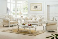 Impressing White Living Room Furniture Designs And Ideas ...