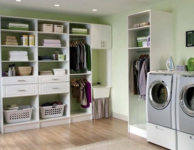 Inexpensive Diy Shelf Laundry Room Storage Ideas