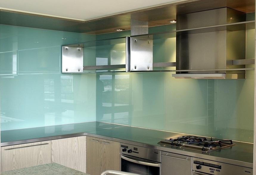 Frosted Glass Kitchen Cabinets Frosted Glass Backsplash For Kitchen With Texture