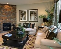 Living room table decoration ideas with small horse ...