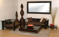 Minimalist wooden sofa designs for small living rooms ...