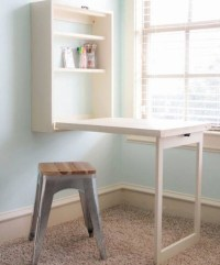 Wall Mounted Folding Table for Laundry Room Design ...