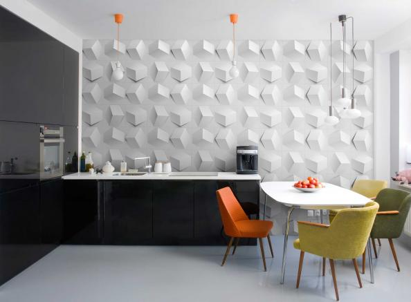 Paperforms 3d Wallpaper Tiles Eco Friendly Wall Coverings Deco Inspiration For Eco