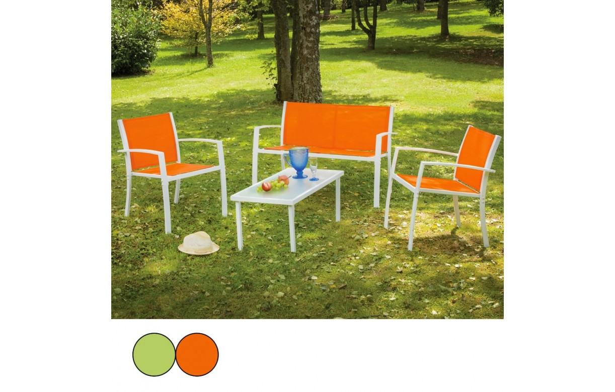Salon De Jardin Orange Best Salon De Jardin Aluminium Vert Anis Contemporary