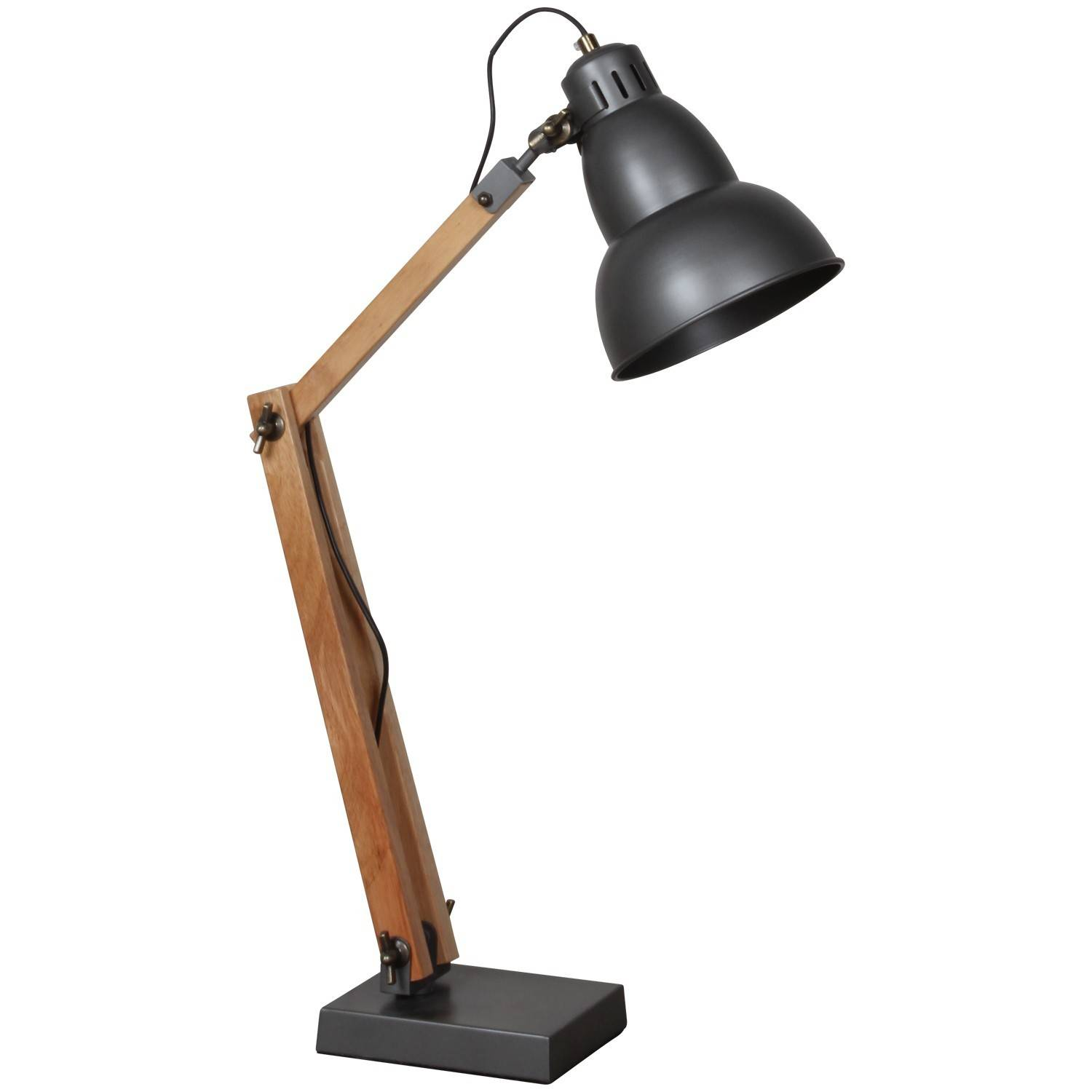 Store Banne D'occasion Lampe A Poser Industrielle Lampe Poser Industrielle Verre