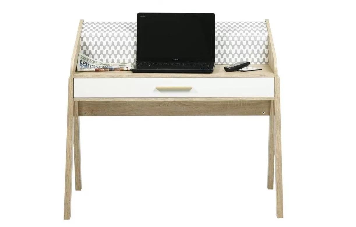 Bureau scandinave blanc bureau design scandinave cm à