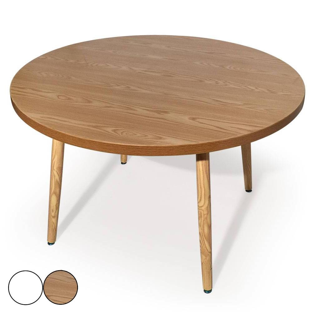 Table En Teck Ronde Table En Bois Ronde