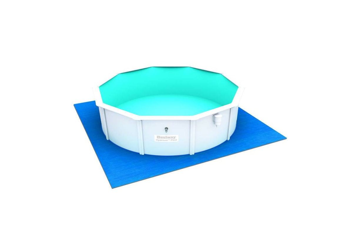 Dimension Piscine Non Imposable Piscine Ronde Blanche Hors Sol En Kit D 466cm Bestway