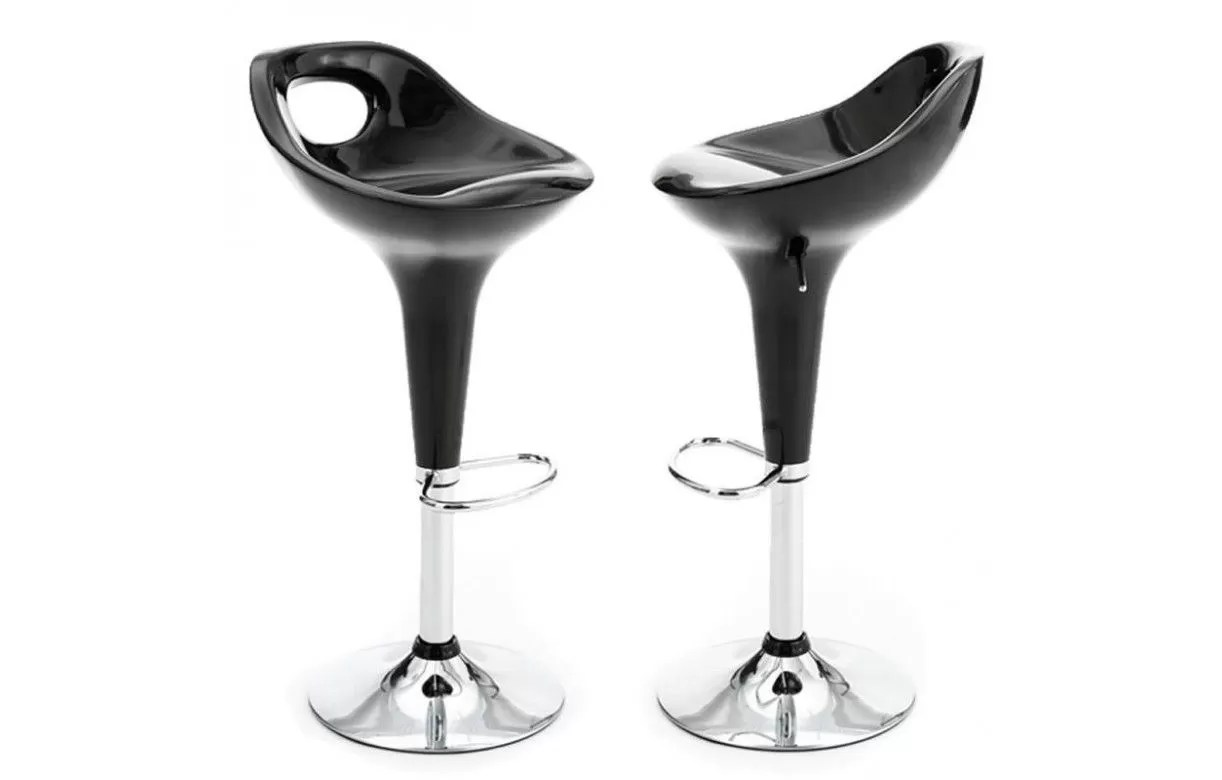 Tabourets De Bar Rose Tabouret De Bar Design Baoba 5 Coloris Lot De 2