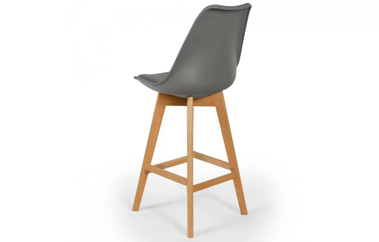 Chaise De Bar Style Eames Lot 4