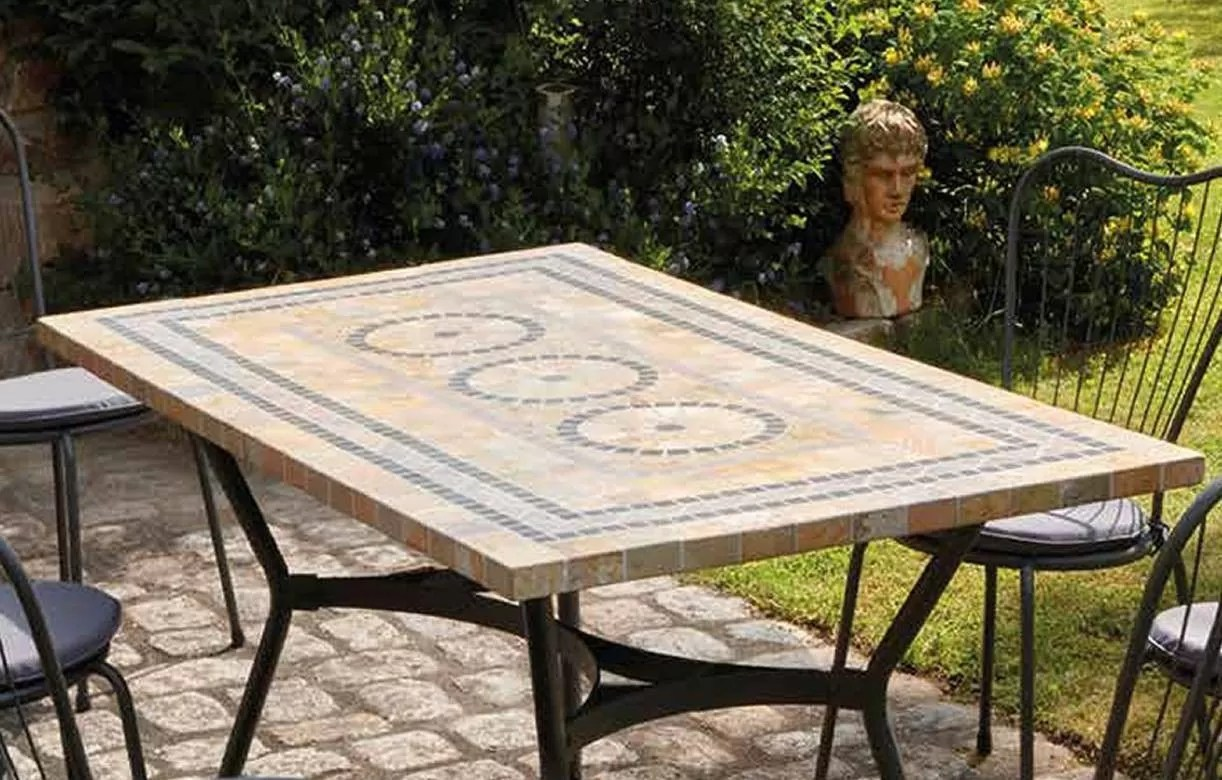 Table Jardin Rectangulaire | Table De Jardin New England ...