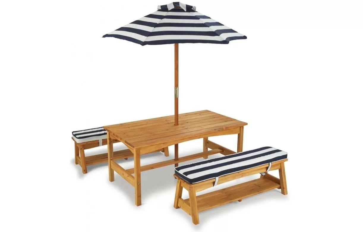 Table Jardin Bois Enfant | Table Chaise Enfant