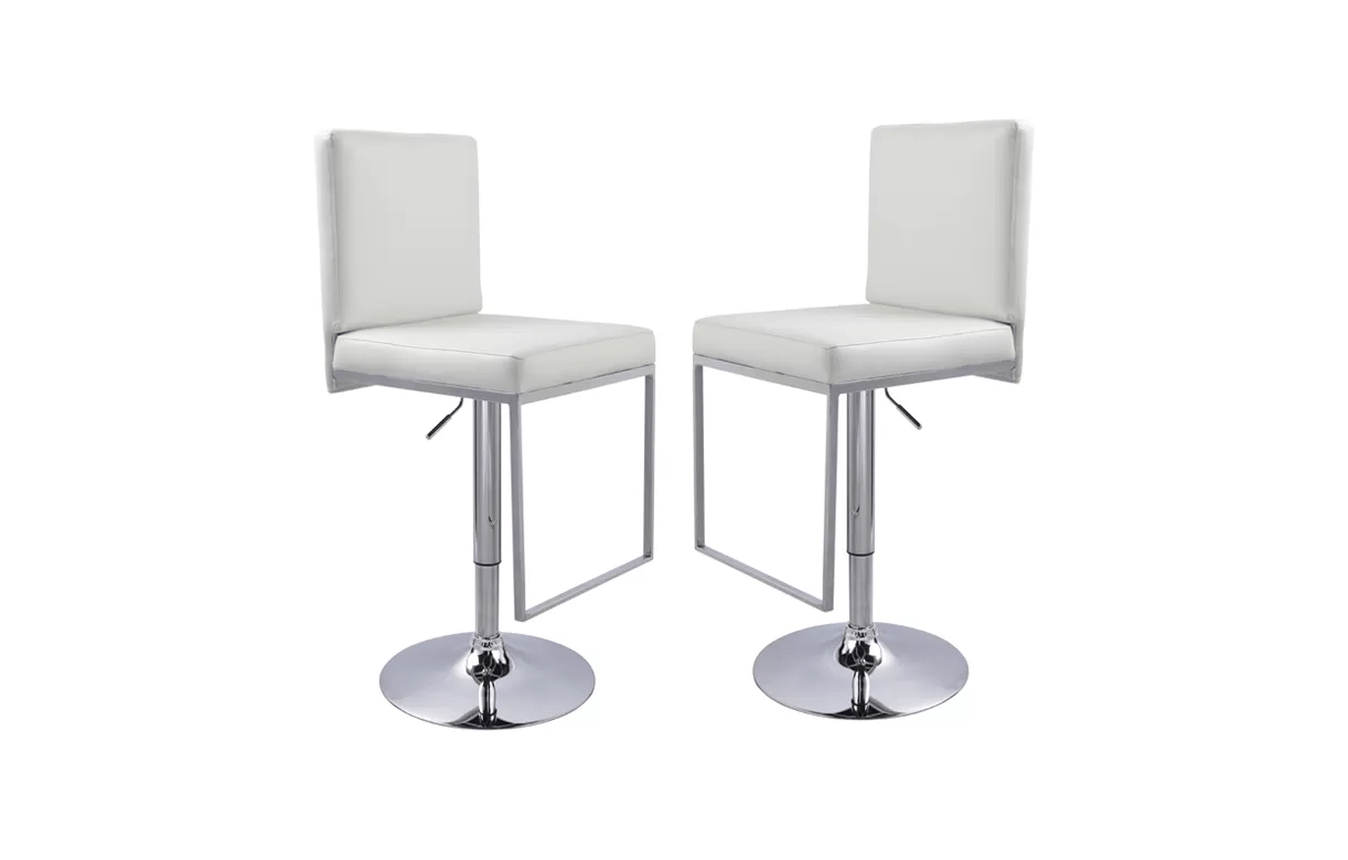 Set De 1 Table Bar Et 4 Tabourets Noir Tabouret De Bar Avec Dossier Design Set De 2