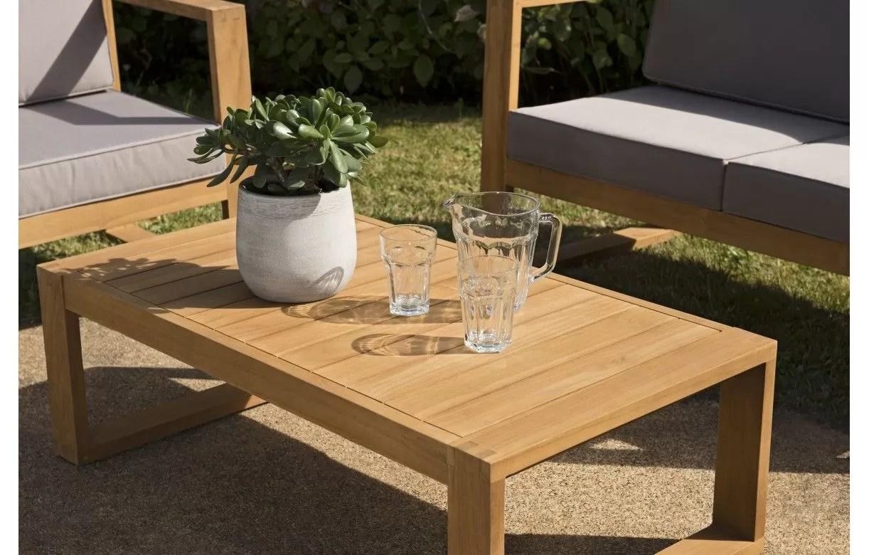 Table Exterieur Bois Massif