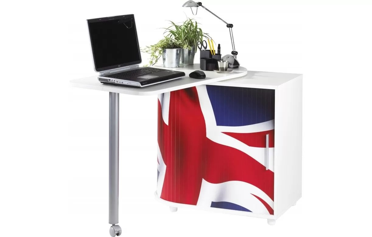 Bureau Informatique Blanc Bureau Pivotant Informatique Noir Ou Blanc London Decome