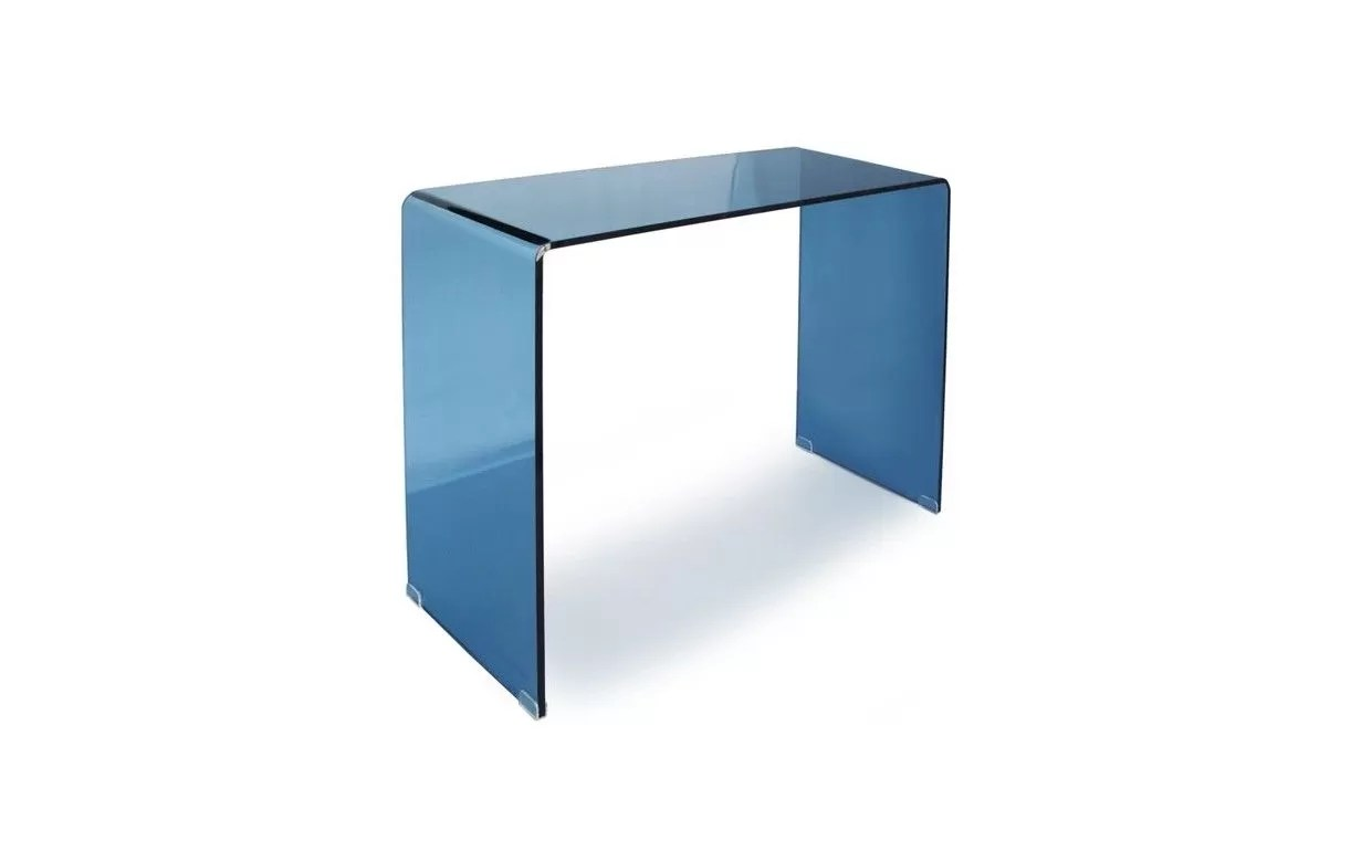 Sellette Design Verre Console 110 Cm