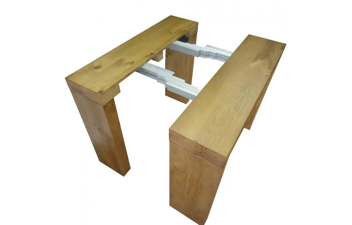 Table Extensible 16 Personnes Table Console Extensible En Bois Massif 10 Couverts Woodini 5