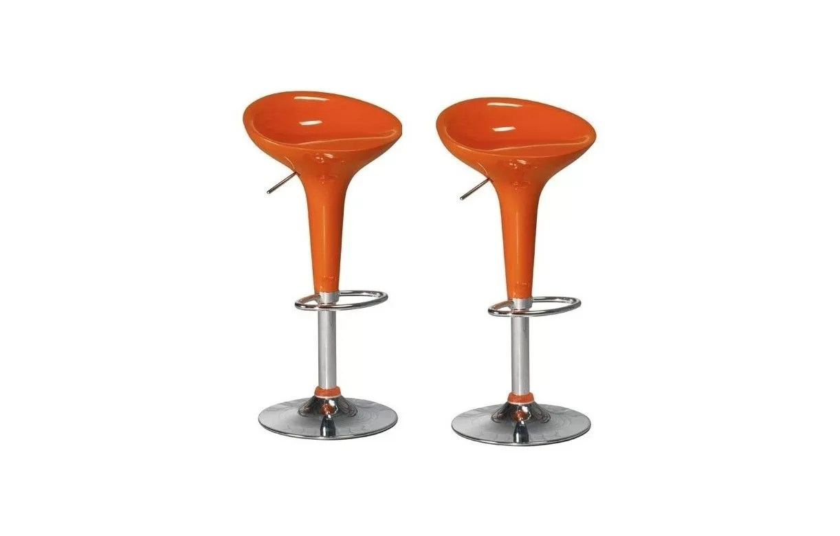 Lot De 2 Tabourets De Bar Christi Ii Tabouret De Bar Design Pas Cher Lot De 2