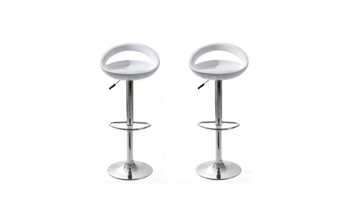 Tabourets Bar Verts Lot De 2 Tabourets De Bar Design Pas Chers