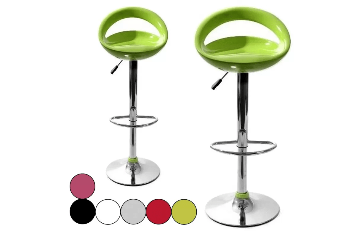 Songmics Lot De 2 Tabourets De Bar Stool Lot De 2 Tabourets De Bar Design Pas Chers