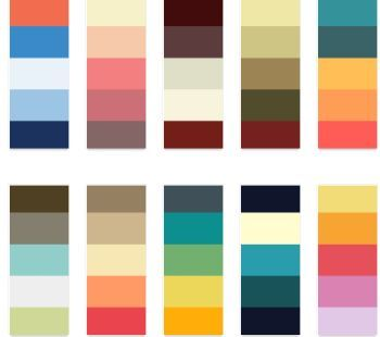 Cr er une d co color block facile et pas ch re d conome - Choix couleur peinture ...