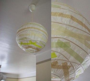 Le masking tape et ses nombreuses utilisations d co d conome - Luminaire papier ikea ...