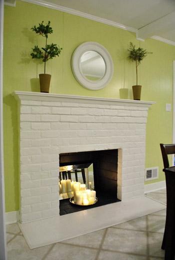 Foyer Mural Salon : Décorer une fausse cheminée idées de faux foyers