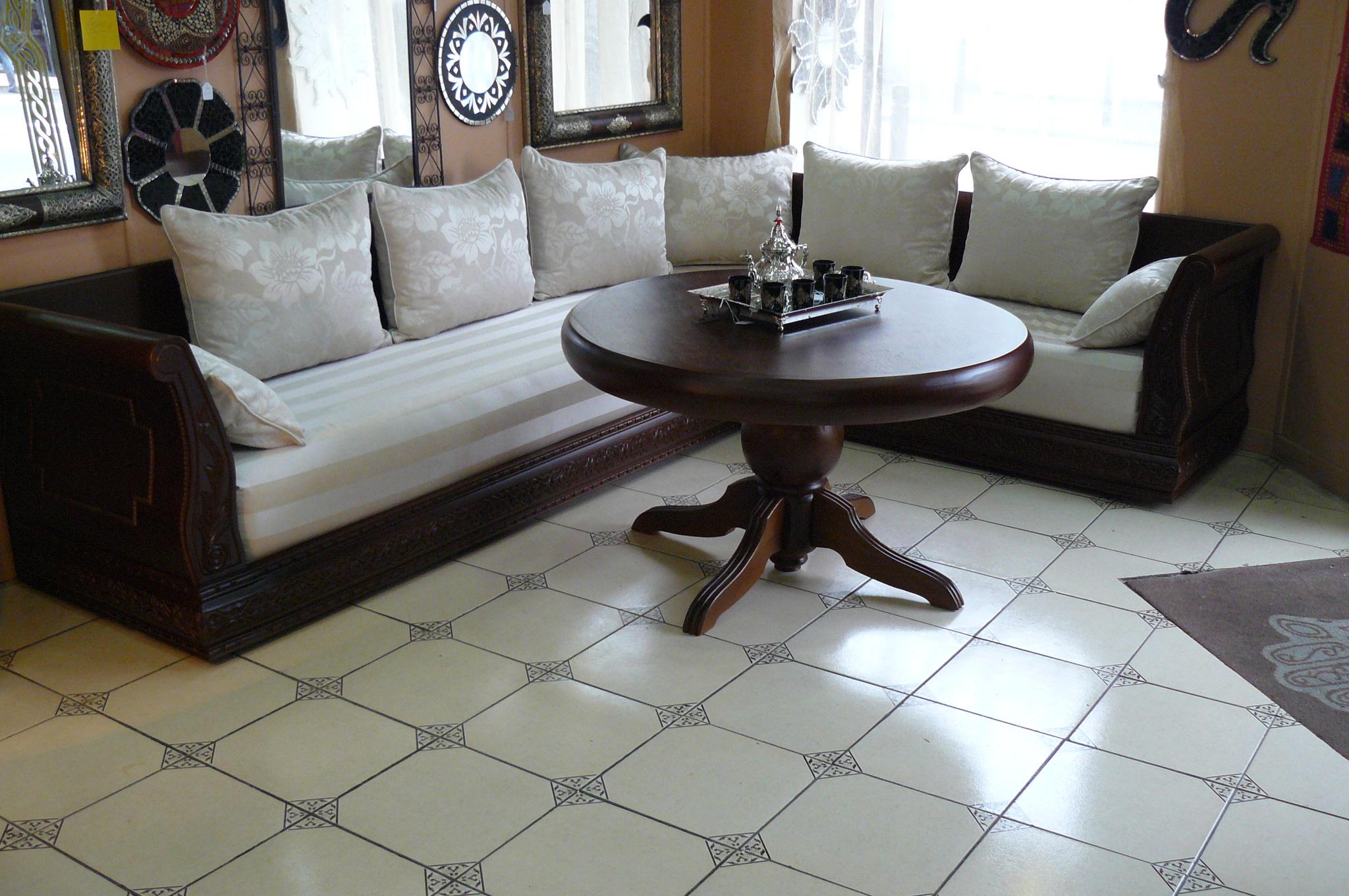 Salon Marocain Mulhouse | Salon Marocain Moderne En Bois Beautiful ...