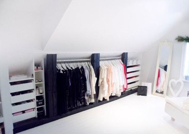 26 Inventive And Sensible Attic Storage Ideas To Try Out