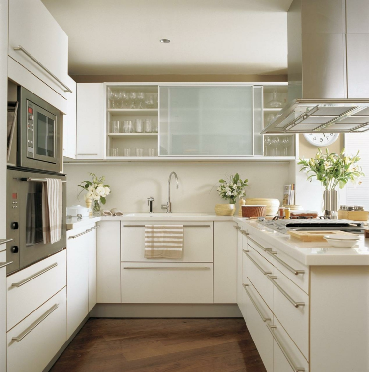 Küche Kleiner Raum Small Kitchen Clever Furnish – Variants And Tips For The ...