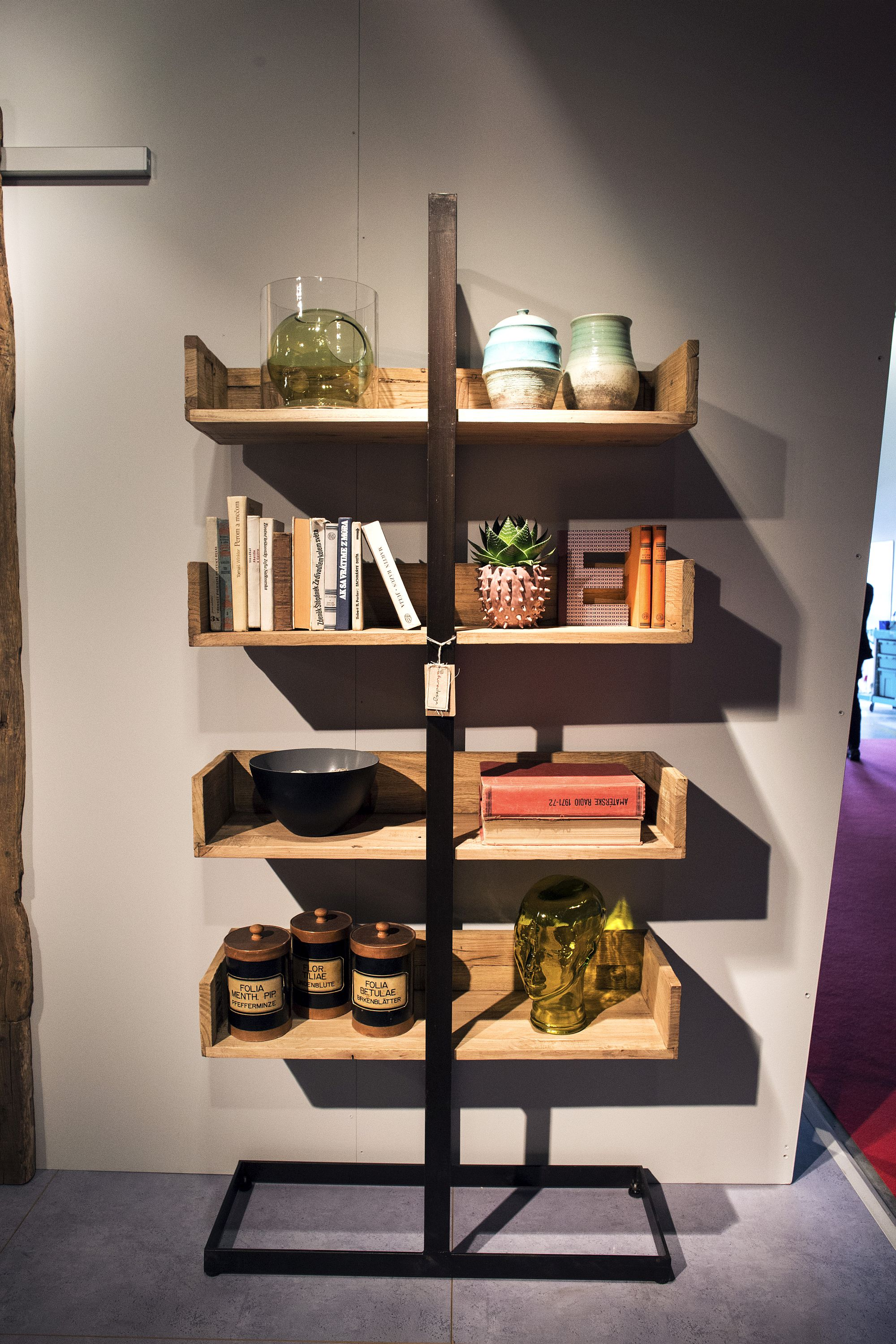 Whimsical Shelves 11 Open Wooden Shelves Bringing Modularity And Decorating