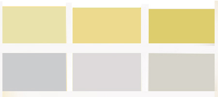 Fall Sunshine Wallpaper Light Gray And Yellow Color Scheme Calm Fall Decorating Ideas