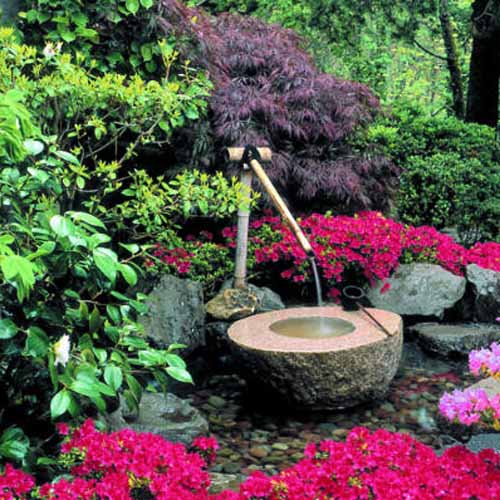 Japanese Garden Decorating Ideas Diy Backyard Ideas, Inspiring And Simple Water Fountain