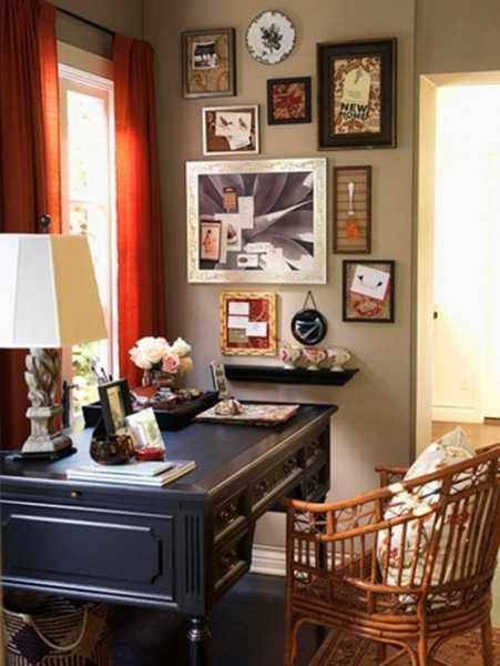 30 Modern Home Office Decor Ideas in Vintage Style