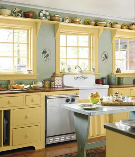 Duck Egg Blue Kitchen Cabinet Paint 25 Shabby Chic Decorating Ideas And Inspirations