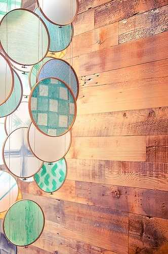 Round Chandelier Creative Ways To Make Home Decorations With Embroidery Hoops