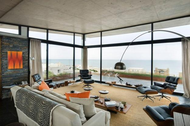 Arne Jacobson Modern Interior Decorating With Eames Chairs Creating