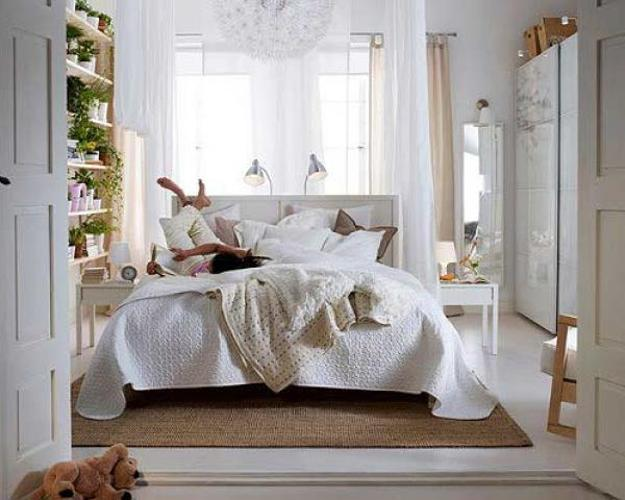 Ikea Plantation Modern Bedroom Decorating Ideas In Provencal Style