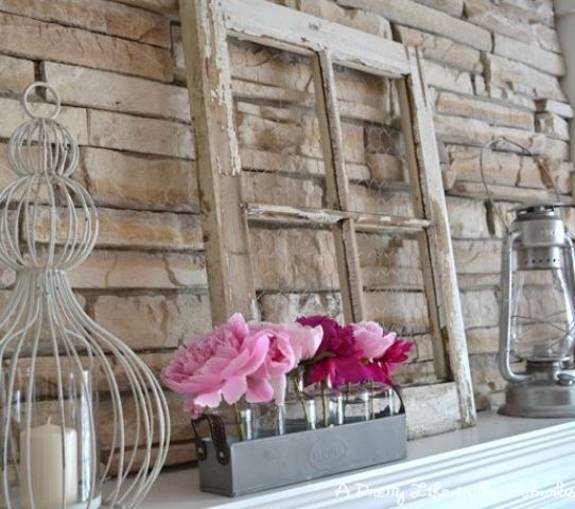 Fireplaces Mantels Ideas Summer Decorating With Flowers And Plants, 25 Beautiful