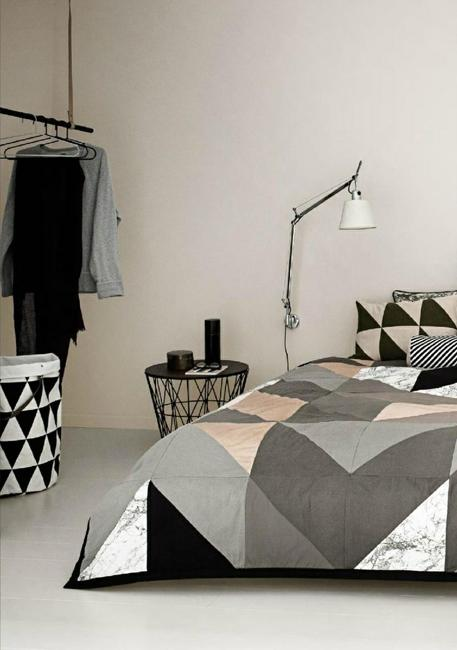 Contemporary Bedroom Sets Creating Modern Bedroom Decor With Geometric Bedding Sets