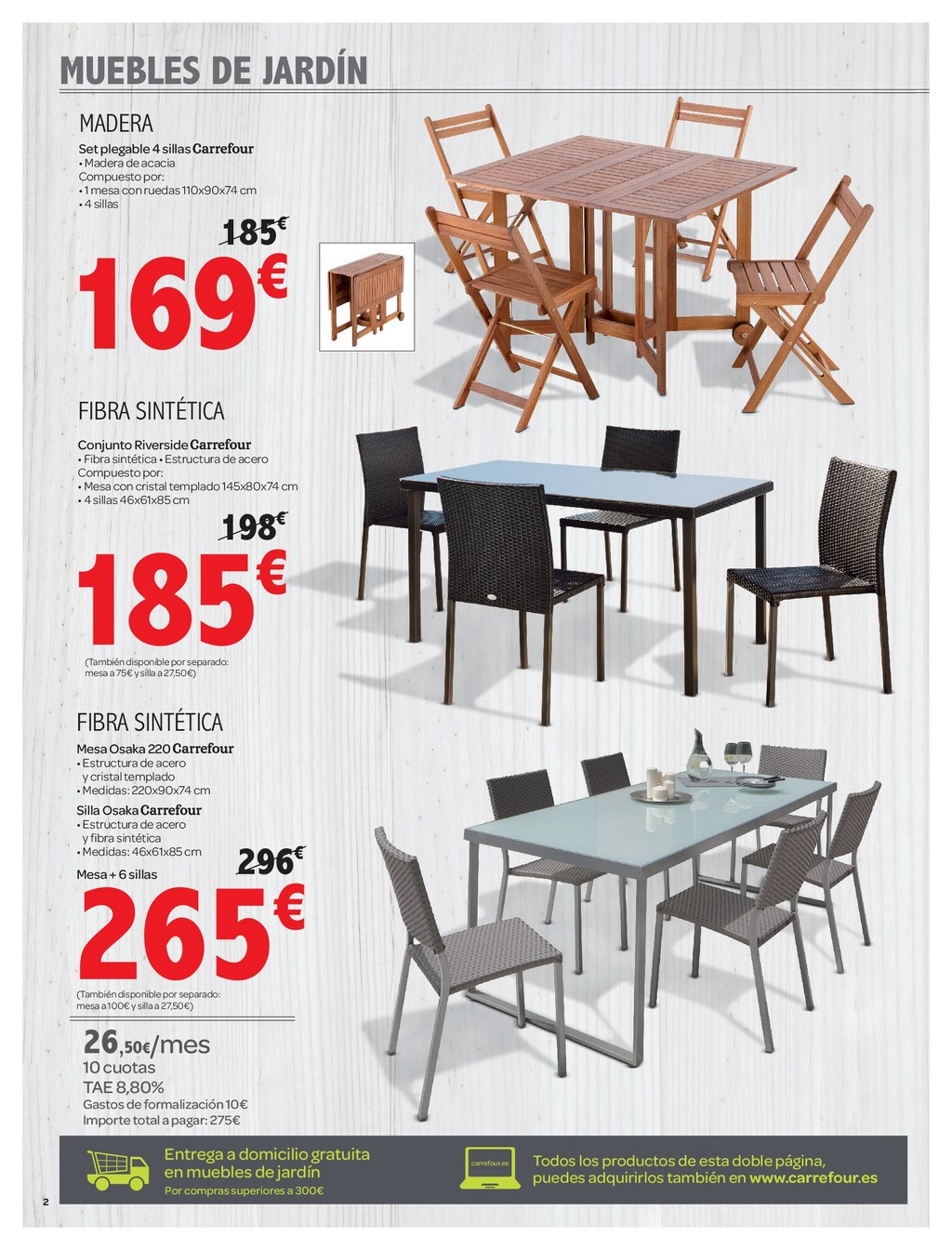 Muebles Jardin Carrefour 2016 Decorablog Revista De Decoración