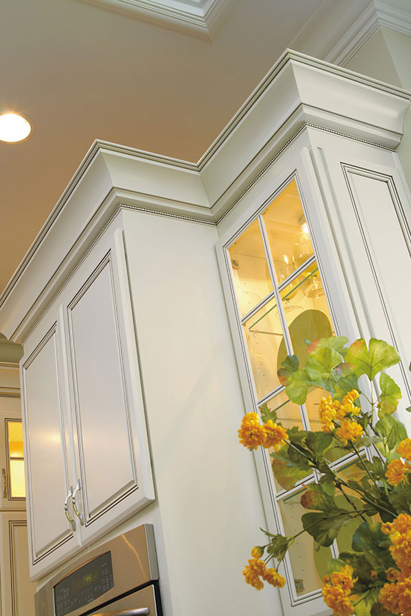 Stacked Cabinets Tall Cornice Crown Moulding - Decora Cabinetry