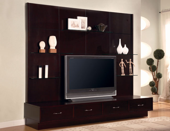 Flat Screen TV Wall Designs Lcd Wall Units Design for Your Modern