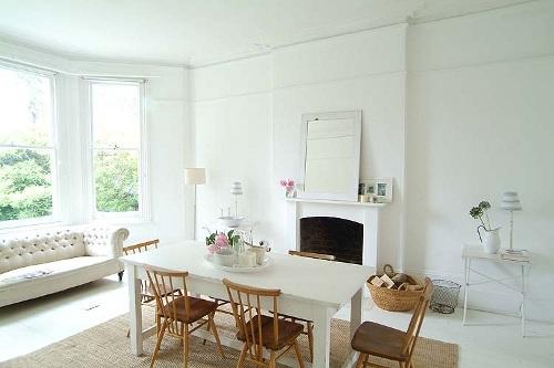 Casa en Londres, Romántica y Serena
