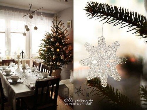 delicados adornos navideños
