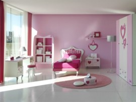 Rosa y Barbie para el Dormitorio de las Niñas