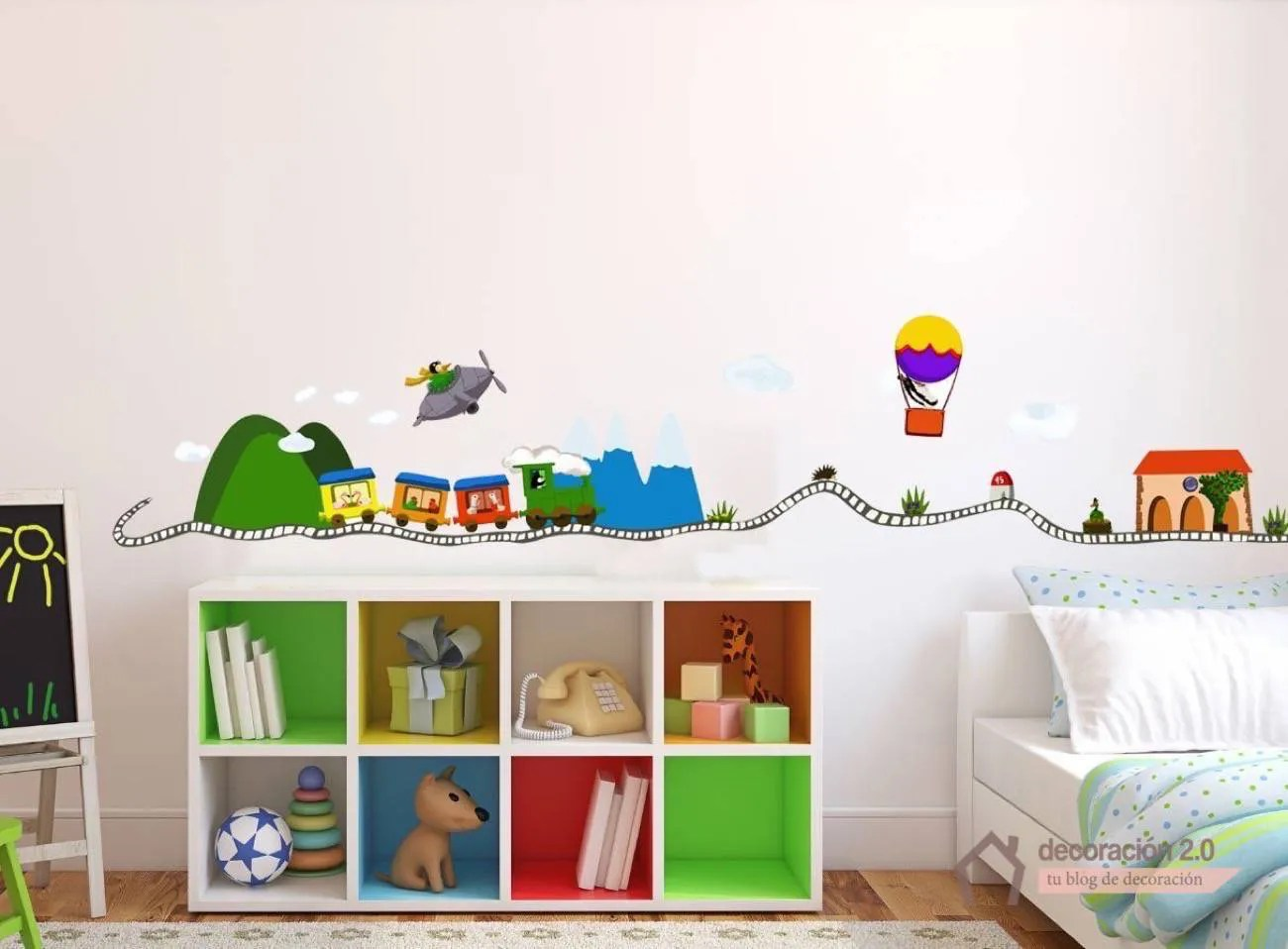 Decorar Pared Habitacion Infantil 5 Ideas Diy Para Decorar Nuestras Habitaciones Infantiles