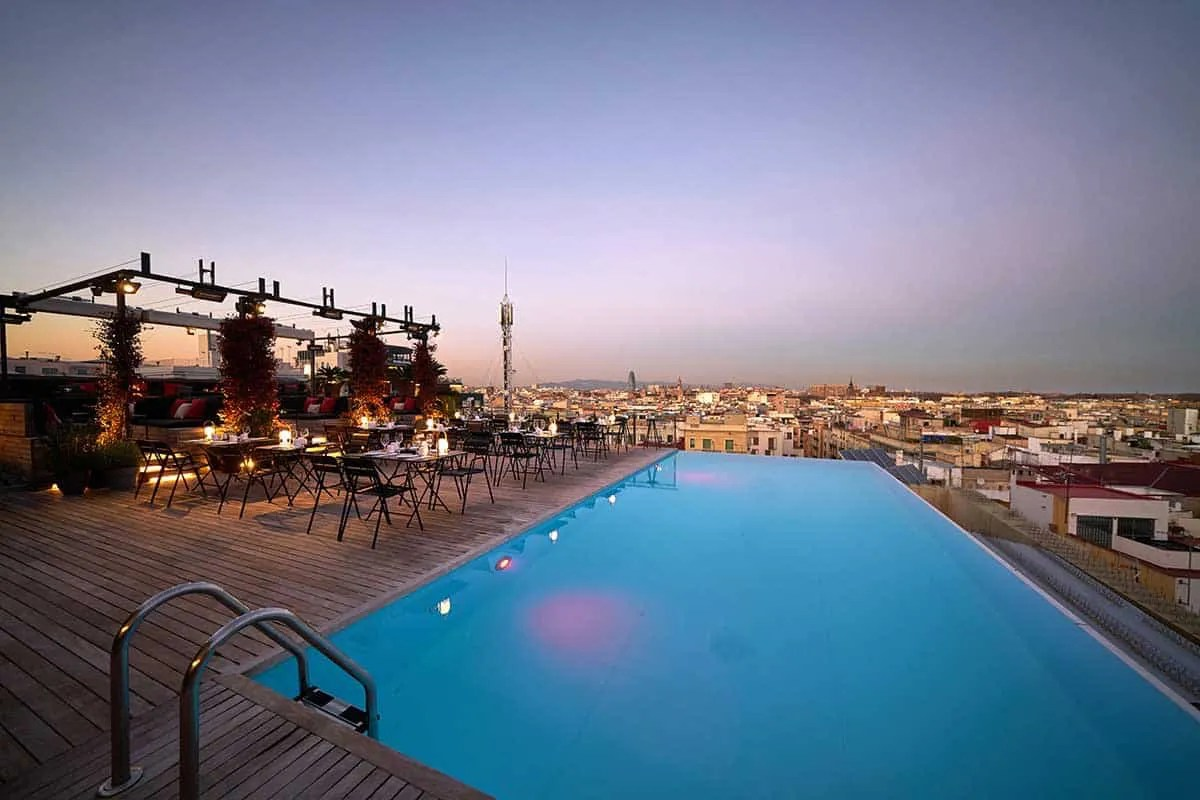 Grand Hotel Central Barcelona The Hotels With The Best Swimming Pools In Europe