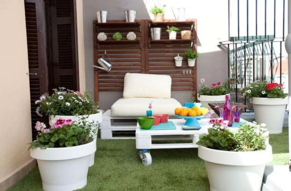 Decoracion Chill Out Exteriores Decorar La Terraza Con Palets Ideas Low Cost Para Este Verano