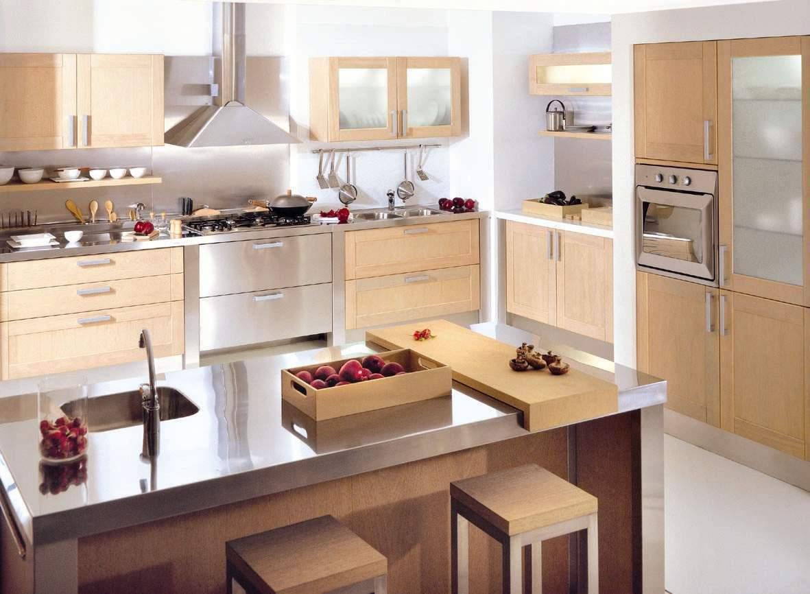 Muebles De Madera Modernos Para Cocina | 70 Cocinas Modernas Colores ...